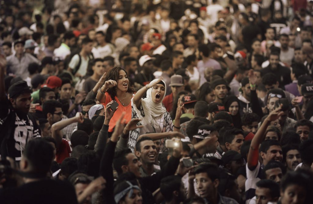 Ambiance dans une des précédentes éditions du festival L'Boulevard à Casablanca.