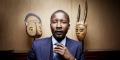 Kibily Touré està la tête des Chemins de fer du Sénégal (CFS) depuis un an et demi. Ici dans son bureau du Quai d'Orsay en 2017.