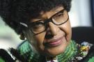Winnie Mandela, fin août, à Johannesburg