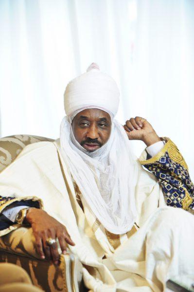 Lamido Sanusi, Émir de Kano au Nigéria, ancien gouverneur de la Banque centrale, deuxième dignitaire religieux musulman du pays. A Paris, le 19 septembre 2017.