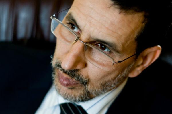 Le chef du gouvernement marocain, Saadeddine El Othmani, en 2008 à Rabat.