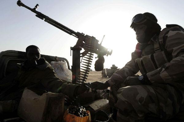 Des soldats maliens dans le nord du pays, en février 2017 (archives / Illustration).