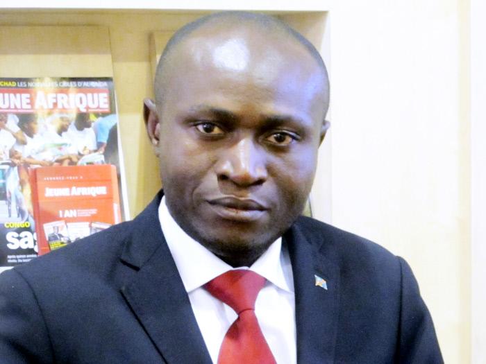 Juvénal Munobo, Député de l'UNC (Union pour la Nation Congolaise) en 2013.