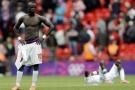 Sadio Mané après la défaite du Sénégal face au Mexique lors des JO de Londres en 2012.
