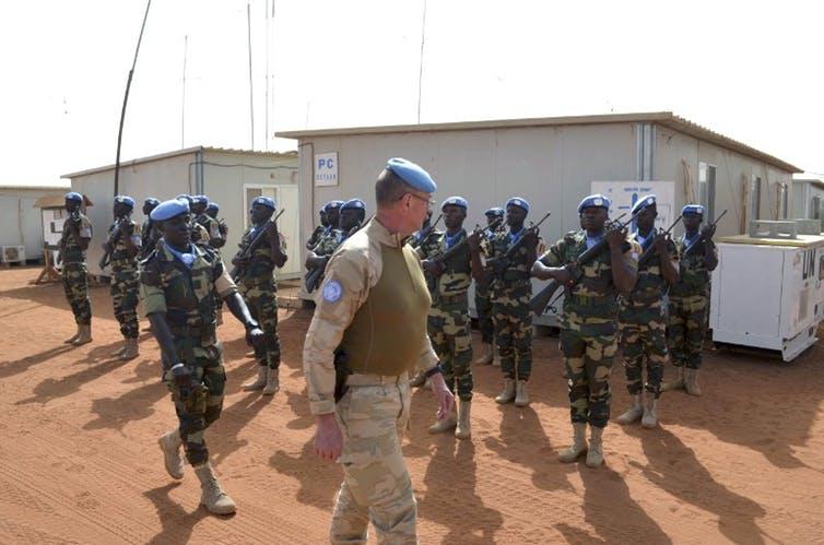 Des Casques bleus pakistanais en Ituri, dans l'est du Congo (en 2004).