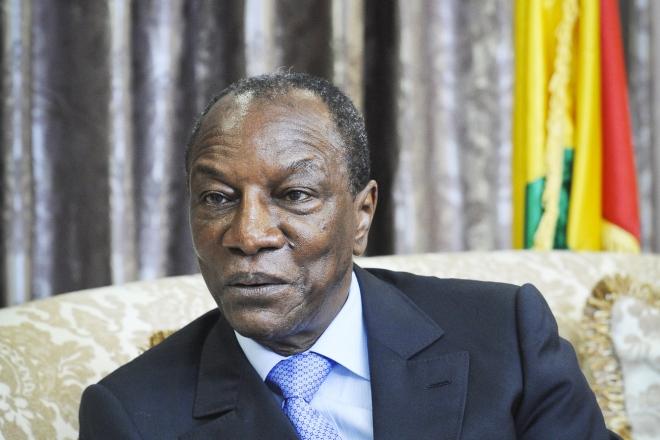 Guinée : à l'occasion de son retour à Conakry, les partisans d'Alpha Condé investissent la rue