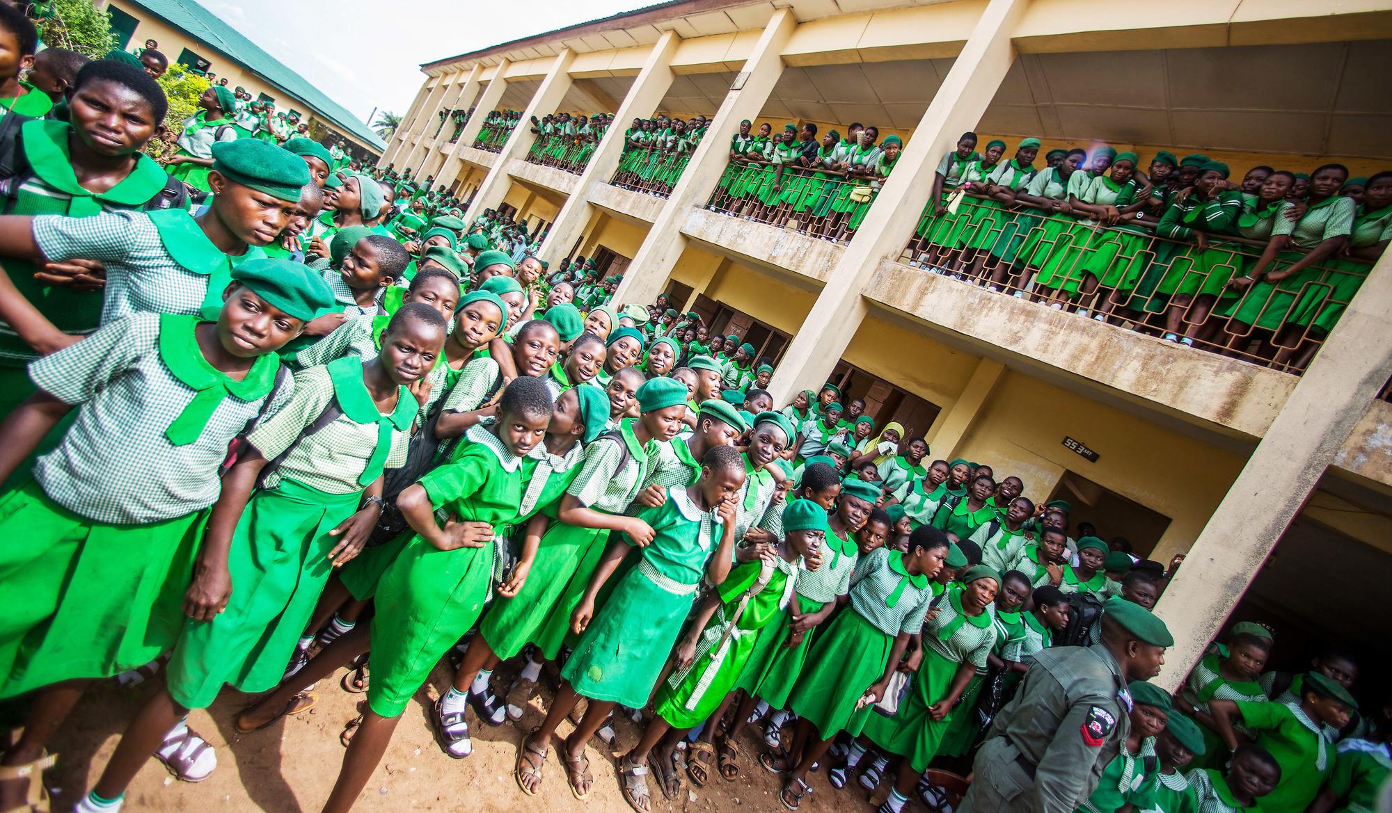 «La jeunesse nigériane est une bombe à retardement», selon l'ex-chef d'État (ici à Ijebu Ode).