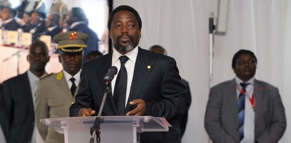 Joseph Kabila, président de la RDC, à Kinshasa, le 29 juin 2010.