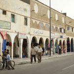 Quartier populaire de la ville de Dakhla, au Sahara occidental (Maroc)