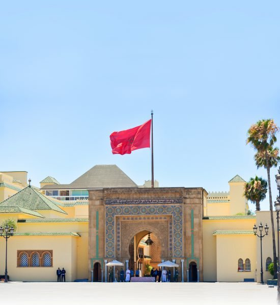 Le palais de Rabat.
