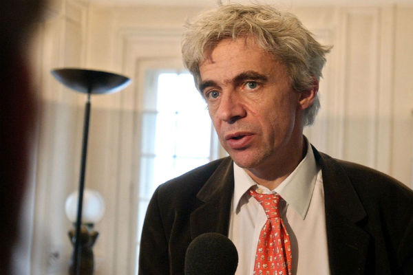 L'avocat français William Bourdon, à Paris, en 2005.