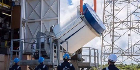 """Résultat de recherche d'images pour """"Maroc lance son premier satellite d'observation depuis la Guyane"""""""