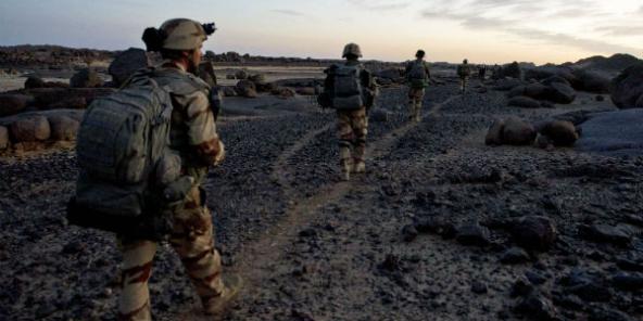 Des soldats français dans le nord du Mali, le 1er mars 2013.