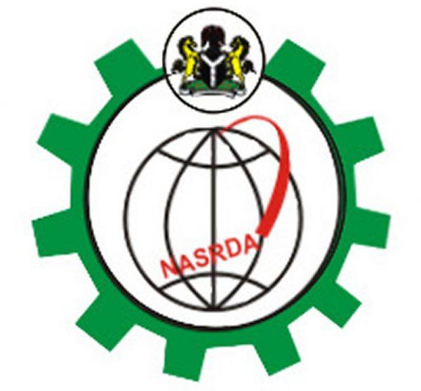 Le logo de la National Space Research and Development Agency (NASRDA).