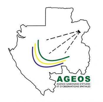 Logo de Agence gabonaise d'études et d'observations spatiales (Ageos).