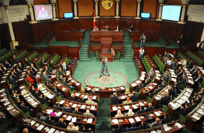 L'Assemblée des représentants du peuple (ARP) en Tunisie, lors de l'inauguration du nouveau Parlement le 2 décembre 2014.