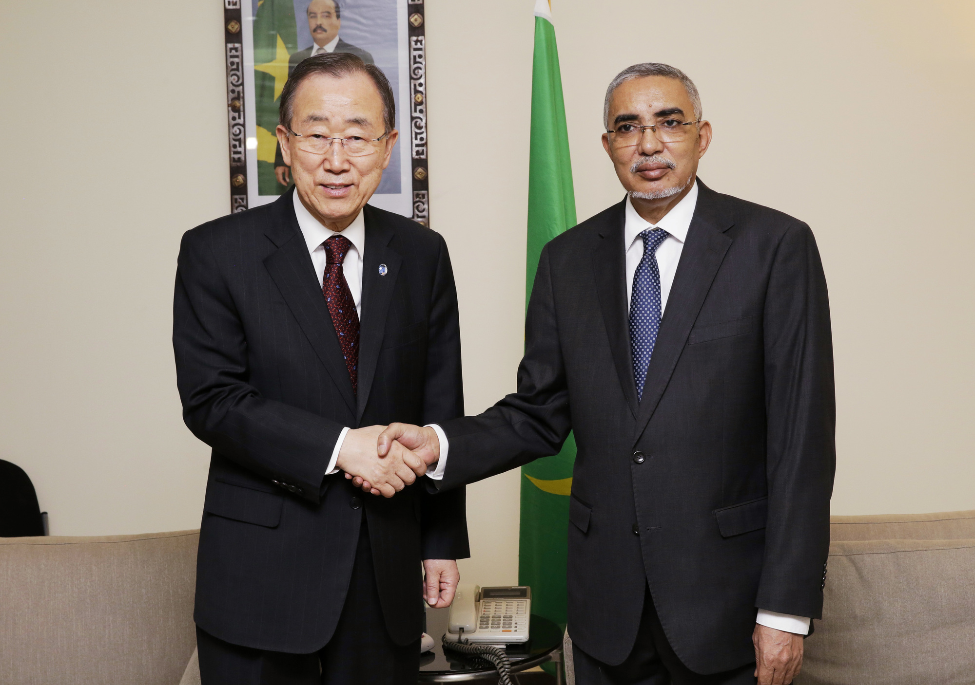 H.E. Mr. Yahya Ould Hademine, Prime Minister of the Islamic Republic of Mauritania [Primature]