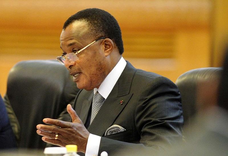 Denis Sassou Nguesso, président du Congo-Brazzaville.