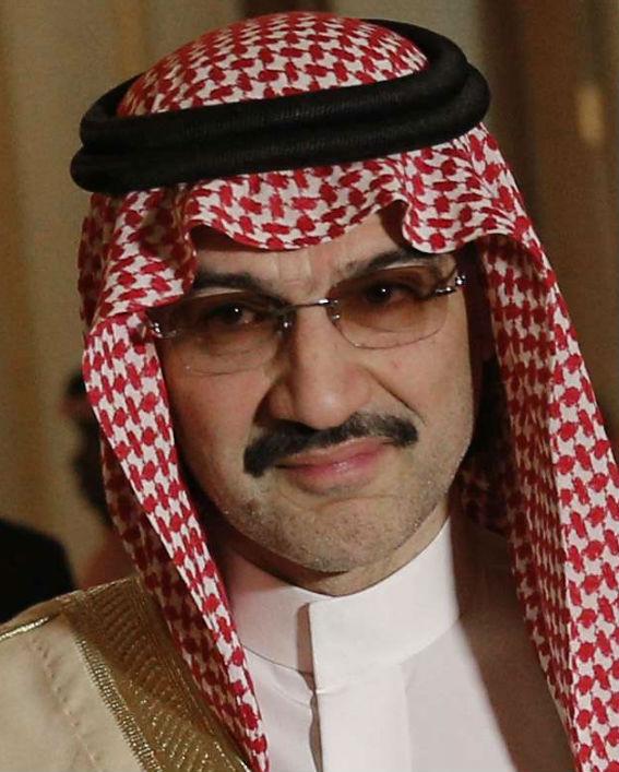 L'homme d'affaires saoudien, Al-Walid ben Talal ben Abdelaziz Al Saoud