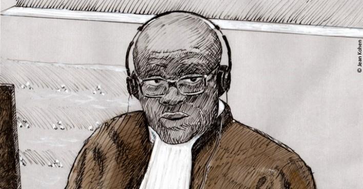 Maître Kassongo, représentant légal des victimes.