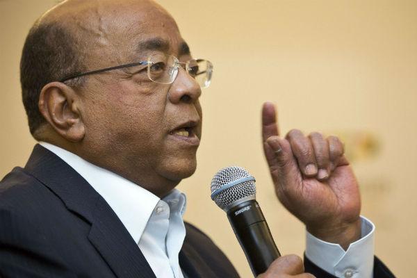 Le milliardaire Mo Ibrahim, au Kenya en mars 2015.