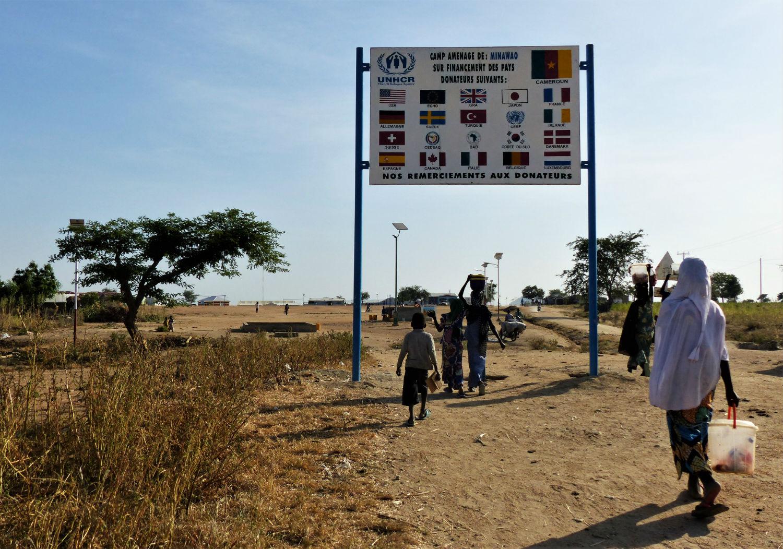 58 000 réfugiés nigérians vivent au camp de Minawao dans l'Extrême-Nord du Cameroun.