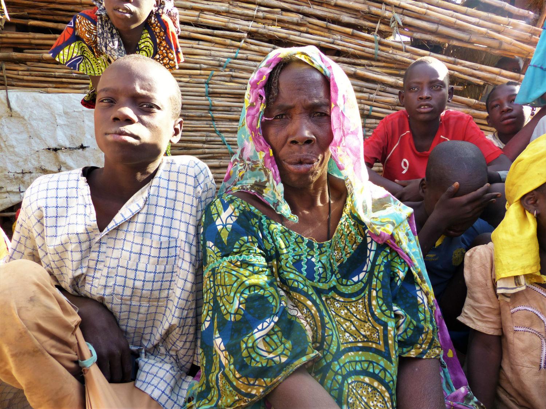 Cette réfugiée nigériane a réussi à fuir son village Banki attaqué par Boko Haram il y a trois ans.
