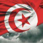 Drapeau tunisien.