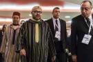 Le roi du Maroc, Mohammed VI, le 29 novembre à Abidjan (image d'illustration).