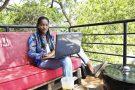 Bettina Codjie, bloggeuse de mode au Togo.