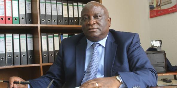 Domitien Ndayizeye, ancien président de la République du Burundi de 2003 à 2005.