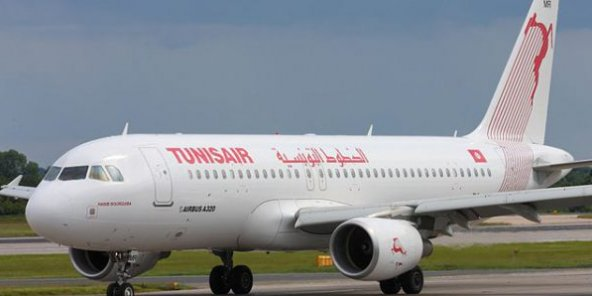 Un avion Tunisair (photo d'illustration).