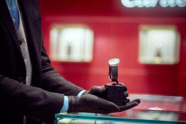 La boutique Yuxe West Africa, à Abijdan, offre une sélection de marques de joaillerie et d'horlogerie.