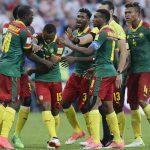Lors du match Cameroun – Allemagne, le 25 juin 2017.