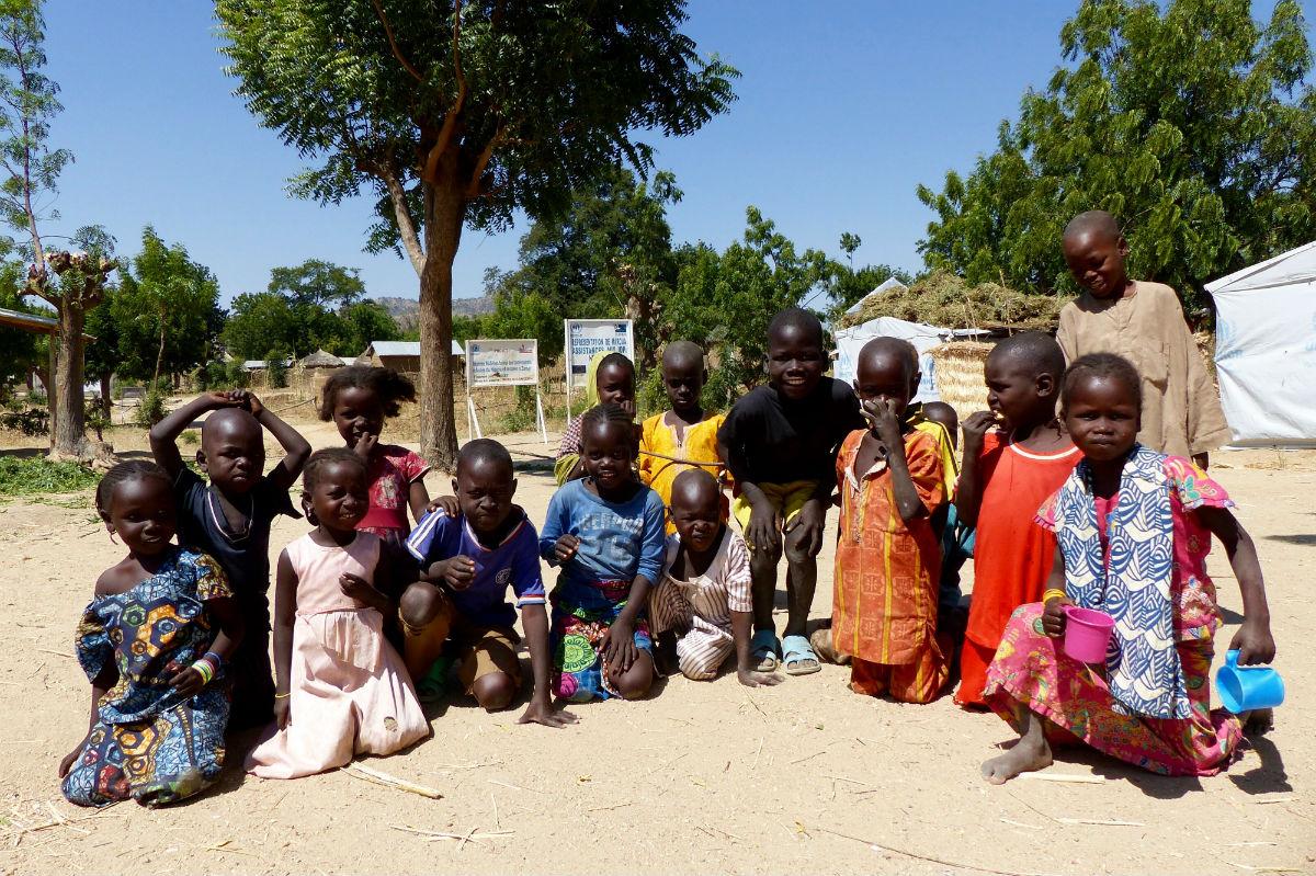 Au camp de déplacés de Zamai de nombreux enfants risquent l'apatridie parce qu'ils n'ont pas été enregistrés à la naissance.
