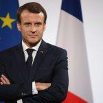 Le président français Emmanuel Macron au palais de l'Elysée, le 21 décembre 2017