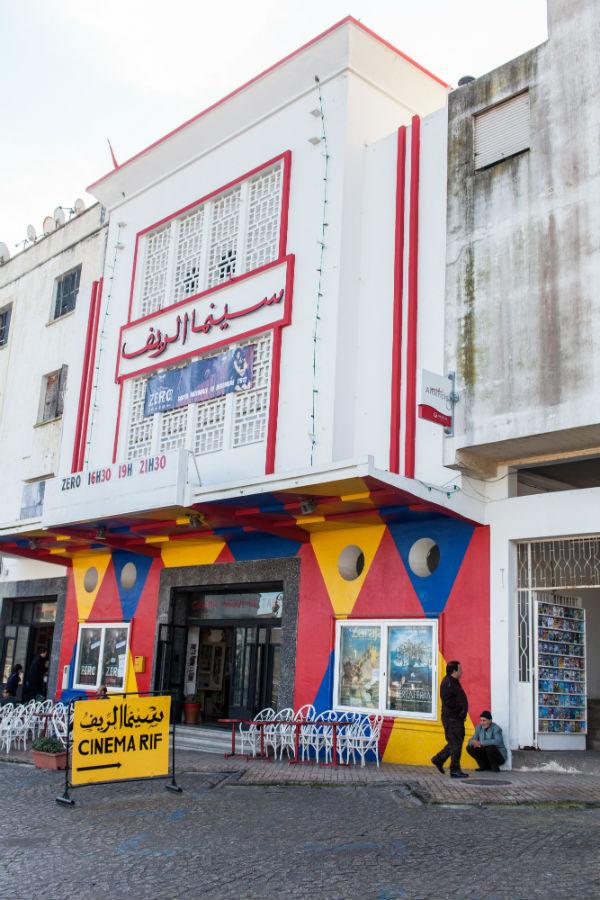 Le cinéma Rif, à Tanger.