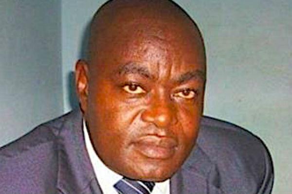 Frederic Inamo, directeur général des douanes centrafricaines.
