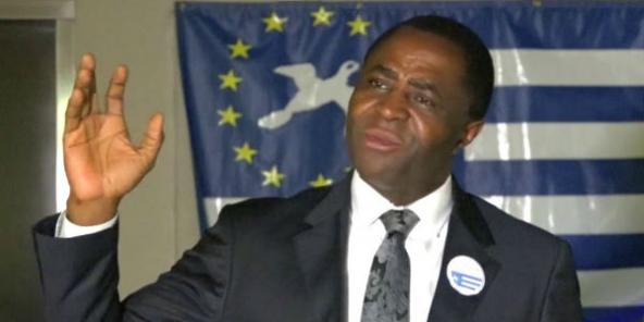 Sisiku Ayuk Tabe, président éphémère de la République d'Ambazonie.