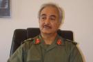 Le général Khalifa Haftar, le 25 avril 2011.