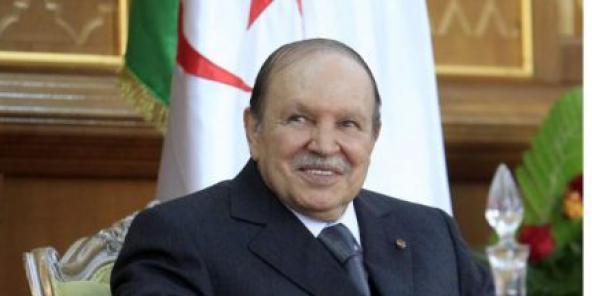 Abdelaziz Bouteflika, zu Tlemcen am Joer 2012.