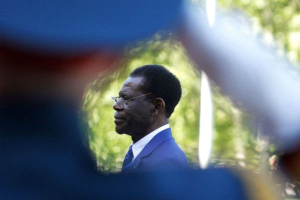 Teodoro Obiang Nguema, en juin 2011 lors d'une visite en Russie (archives).
