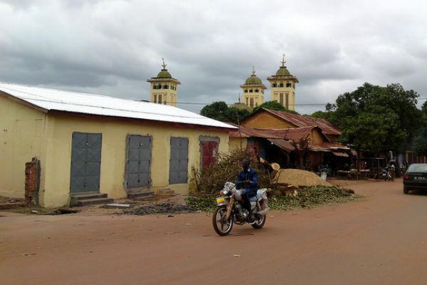 Une rue de Kankan, capitale de la Haute-Guinée, en juillet 2014 (image d'illustration).