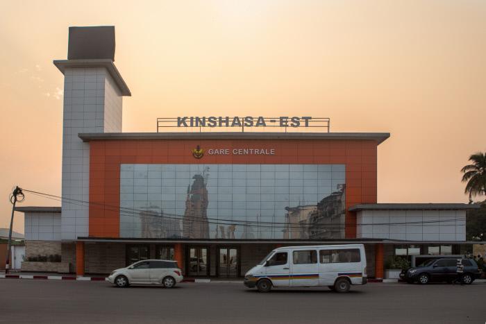 La gare centrale de Kinshasa, le 25 juin 2016.