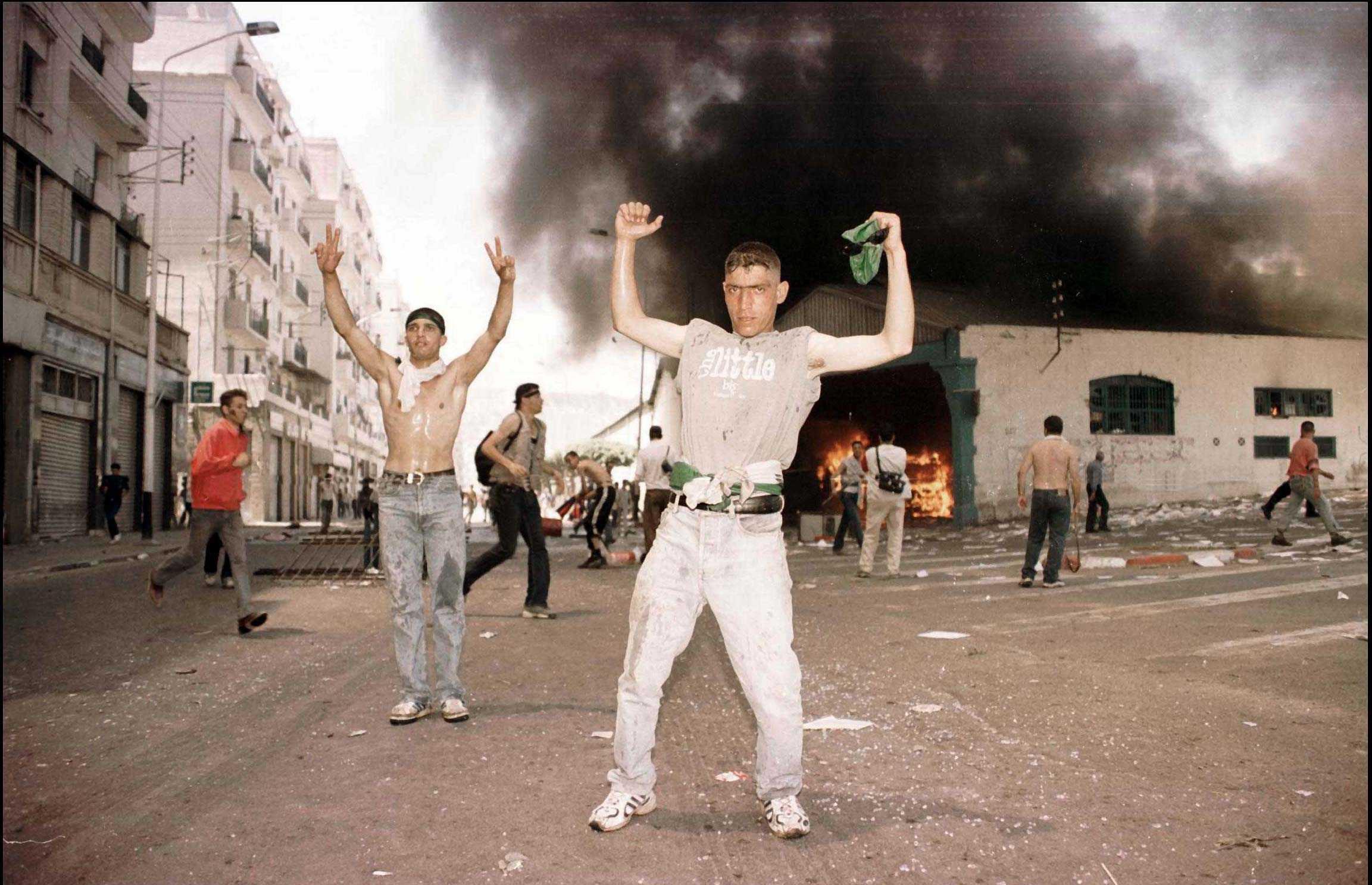 Les émeutes de 2001 en Kabylie.