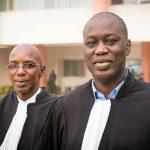 Me Demba Ciré Bathily et Me Seydou Diagne, deux avocats avec lesquels l'État sénégalais a souvent maille à partir.