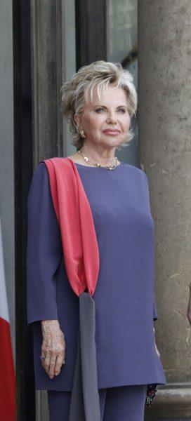 Viviane Wade, épouse de l'ancien président Abdoulaye Wade et mère de Karim, le fils de l'ancien président sénégalais.