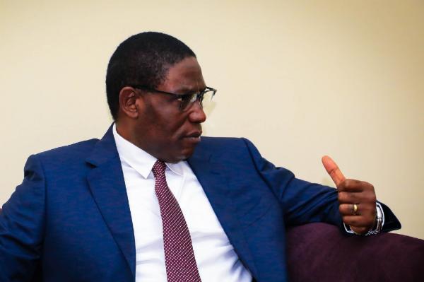 Henri Mova Sakanyi, secrétaire général du PPRD.