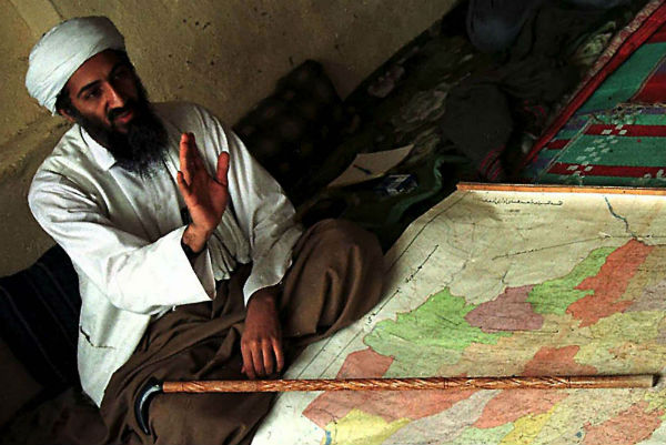 Ben Laden, en 1998 en Afghanistan.