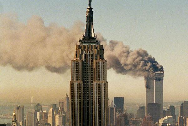 Attentat du World Trade Center, le 11 septembre 2001 à New York.
